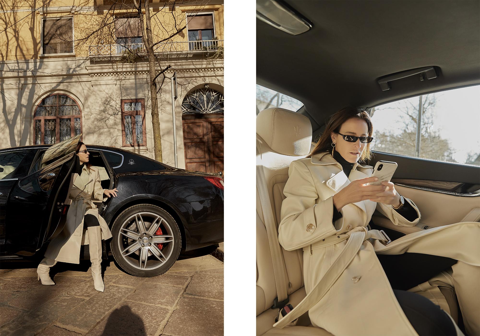 Maserati, QuattroPorte,Milan, Fashion, Week, Balenciaga, Oracle, Fox, Outfit
