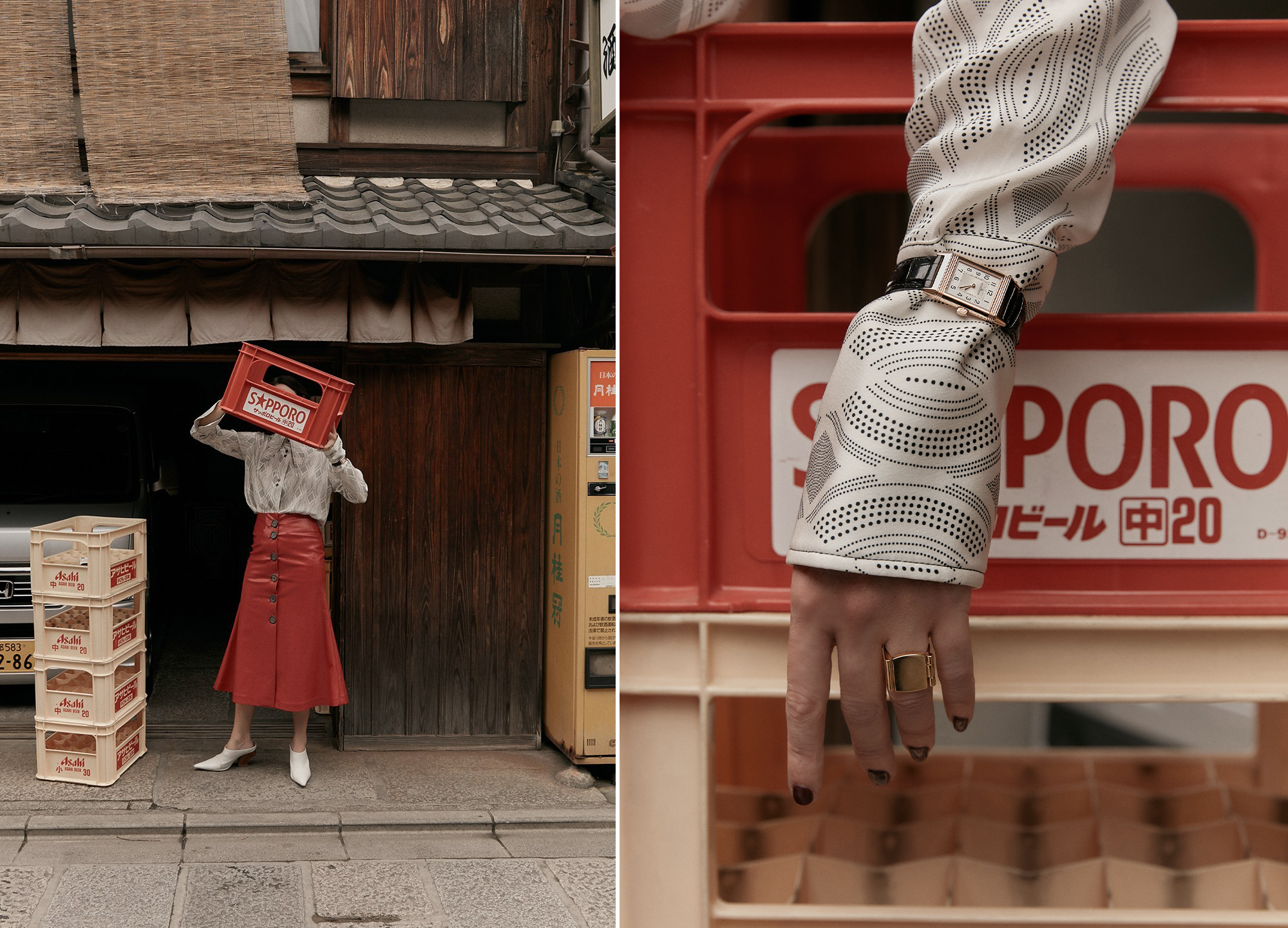 Kyoto, Travel, Watch, Jaeger Le Coultre, Outfit, Editorial, Photography,