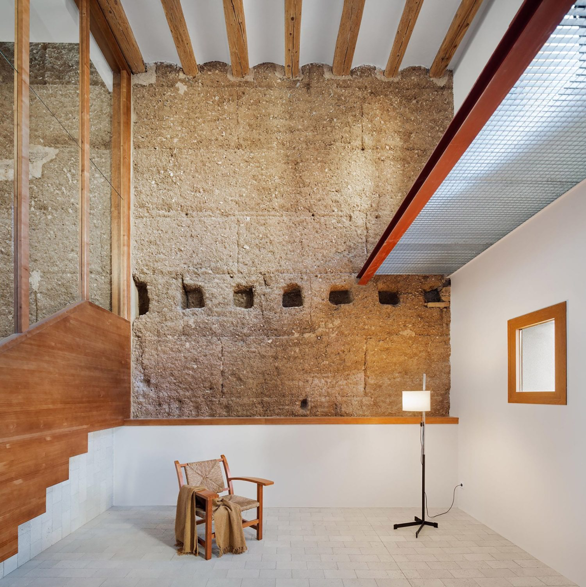 Spain, Sunday, Sanctuary, Interiors, Renovation, Stone, High ceilings